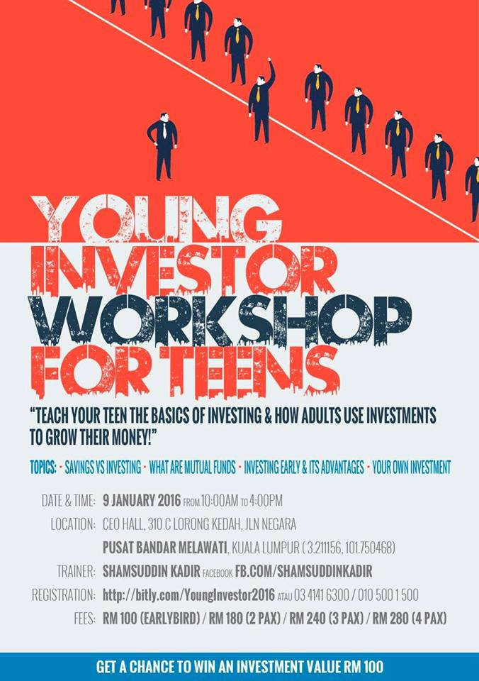 Young Investor Workshop for teens